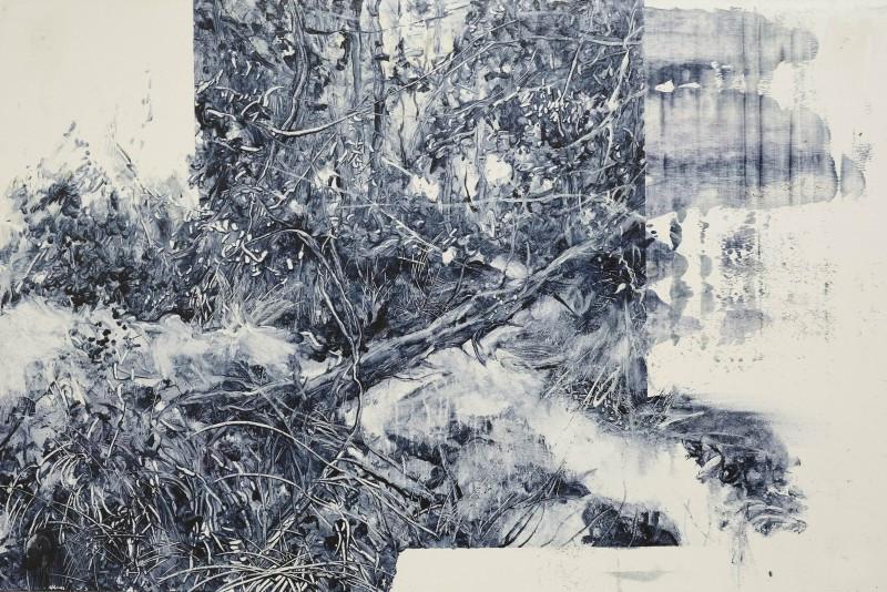 """""""Lost"""" 60 x 90 cm  Öl auf Karton 2021"""