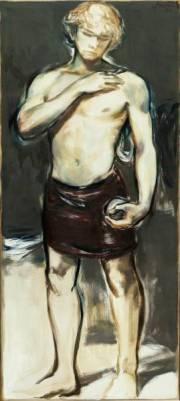 """David"" 180 x 80 cm Öl auf Leinwand 2021"